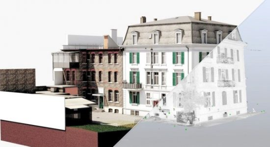 Hafnerstrasse-pointcloud-to-BIM services-VMT Solutions