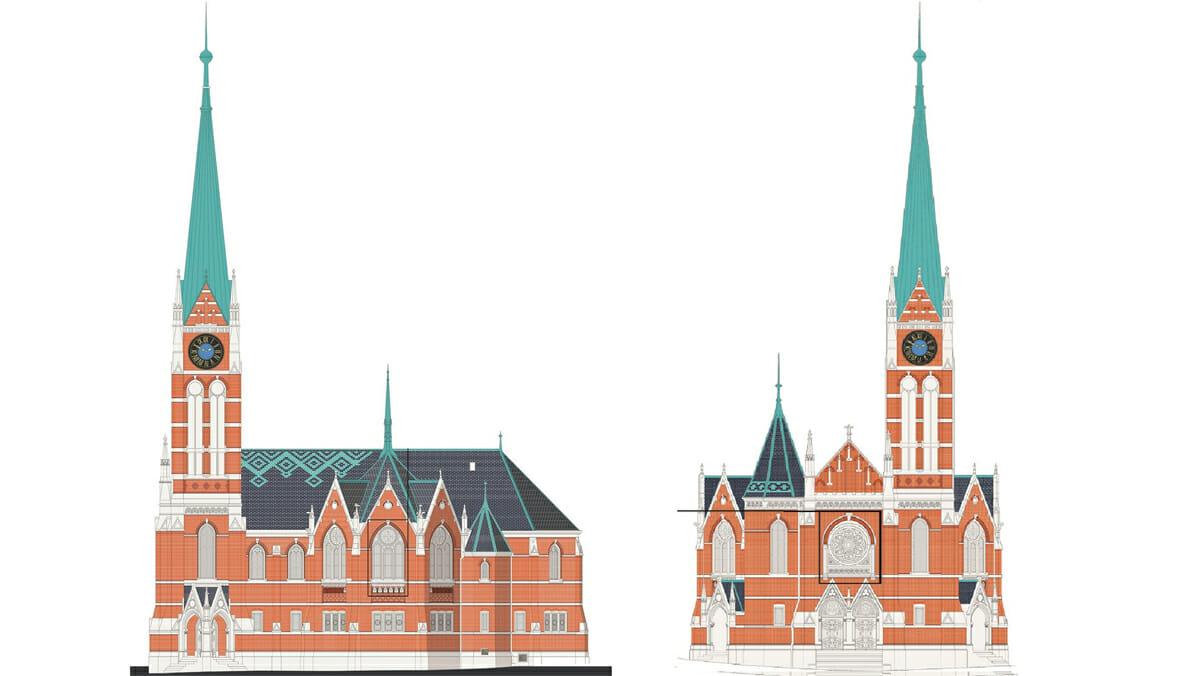 Dự án Wiedikon Kirche Bühl