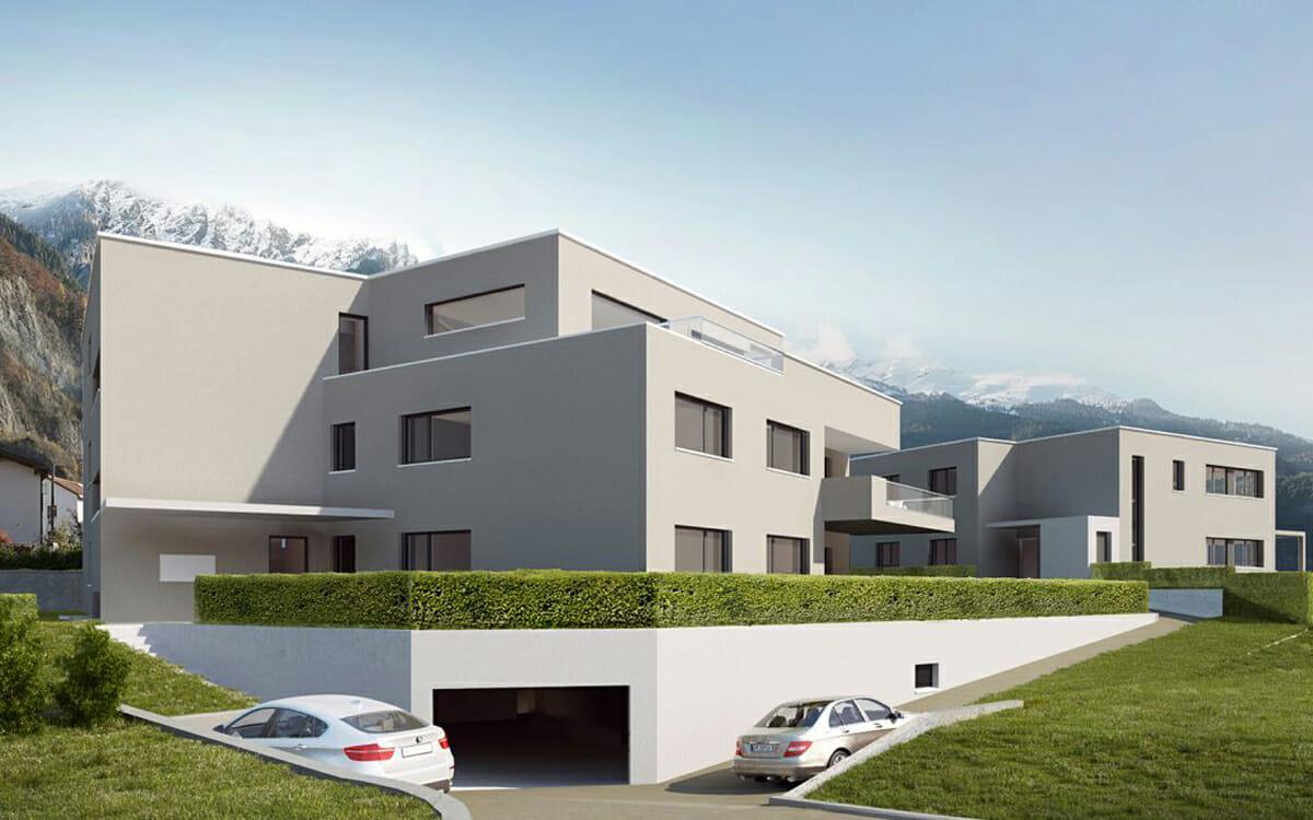 Mehrfamilienhäuser プロジェクト
