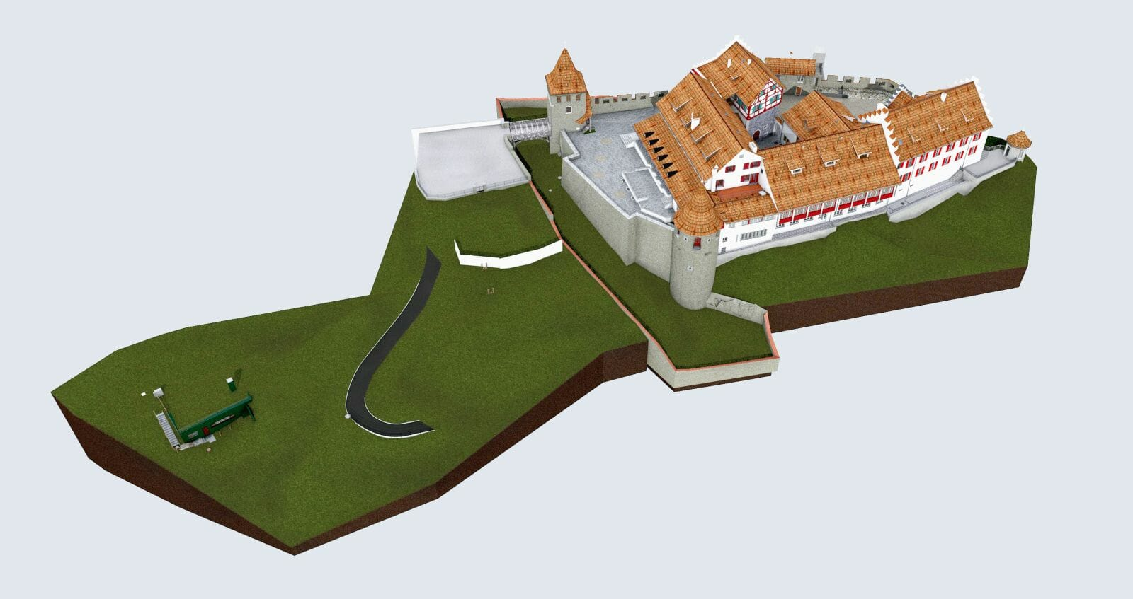 Project Laufen Castle