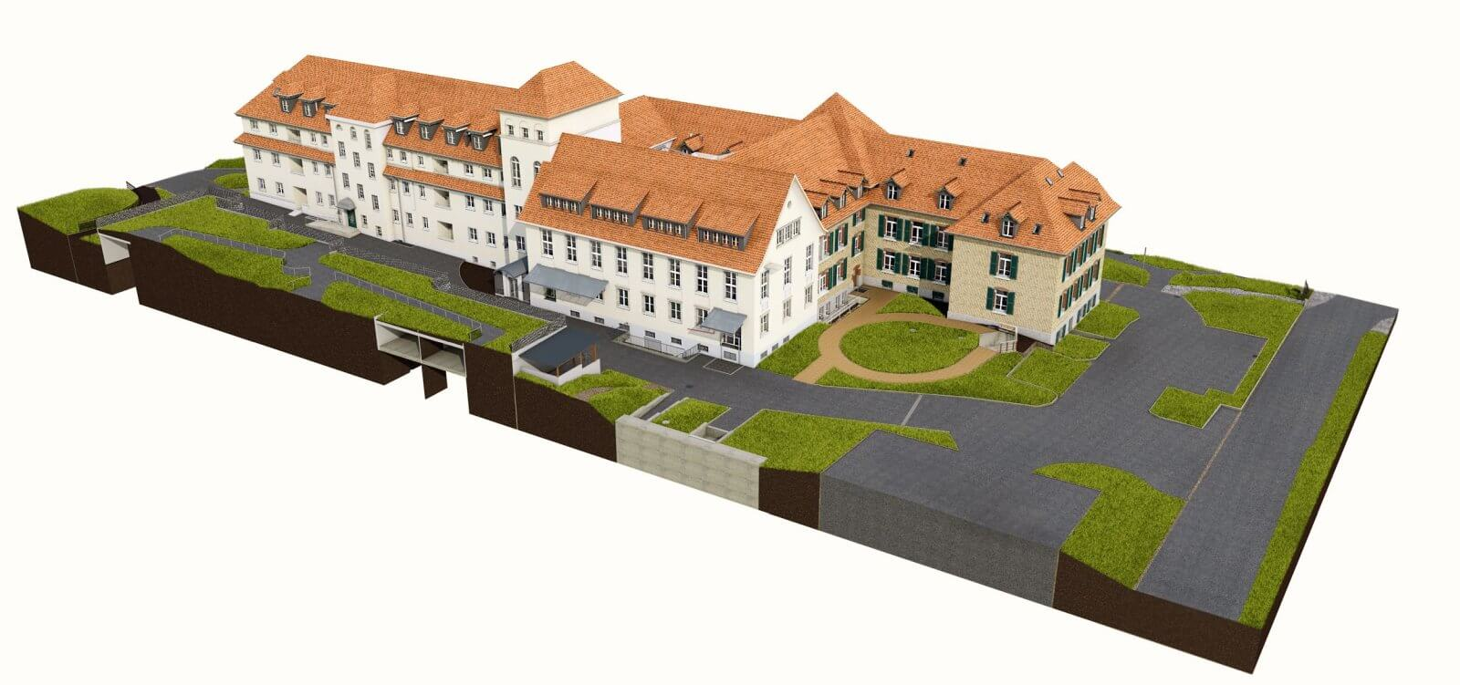 Projekt Wagerenhof Point Cloud Processing - Scan to Archicad
