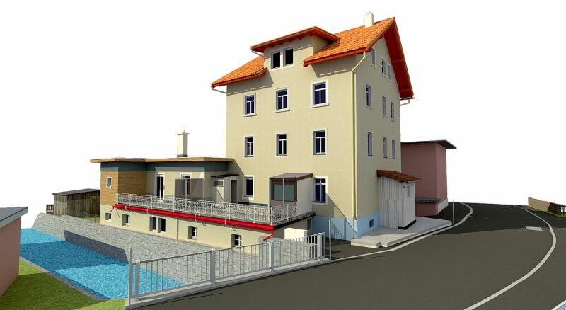 point cloud to bim, 3d modelling, 3d modelle, 3d cad