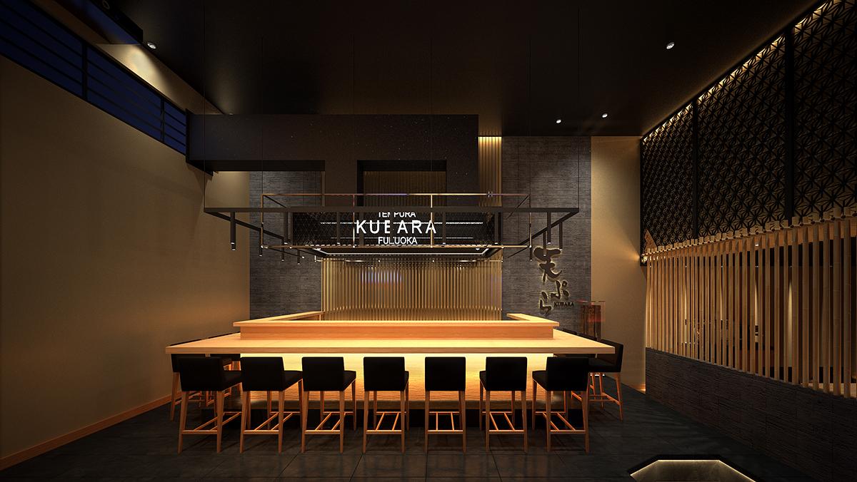 Dự án nhà hàng Nhật KUBARA
