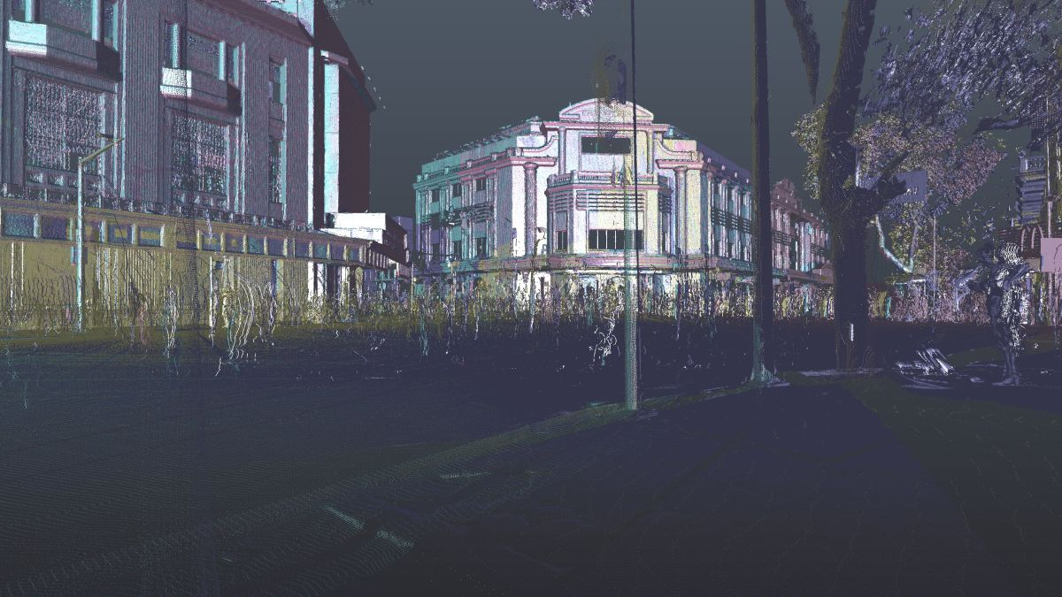 3D laser scanning in Ha Noi