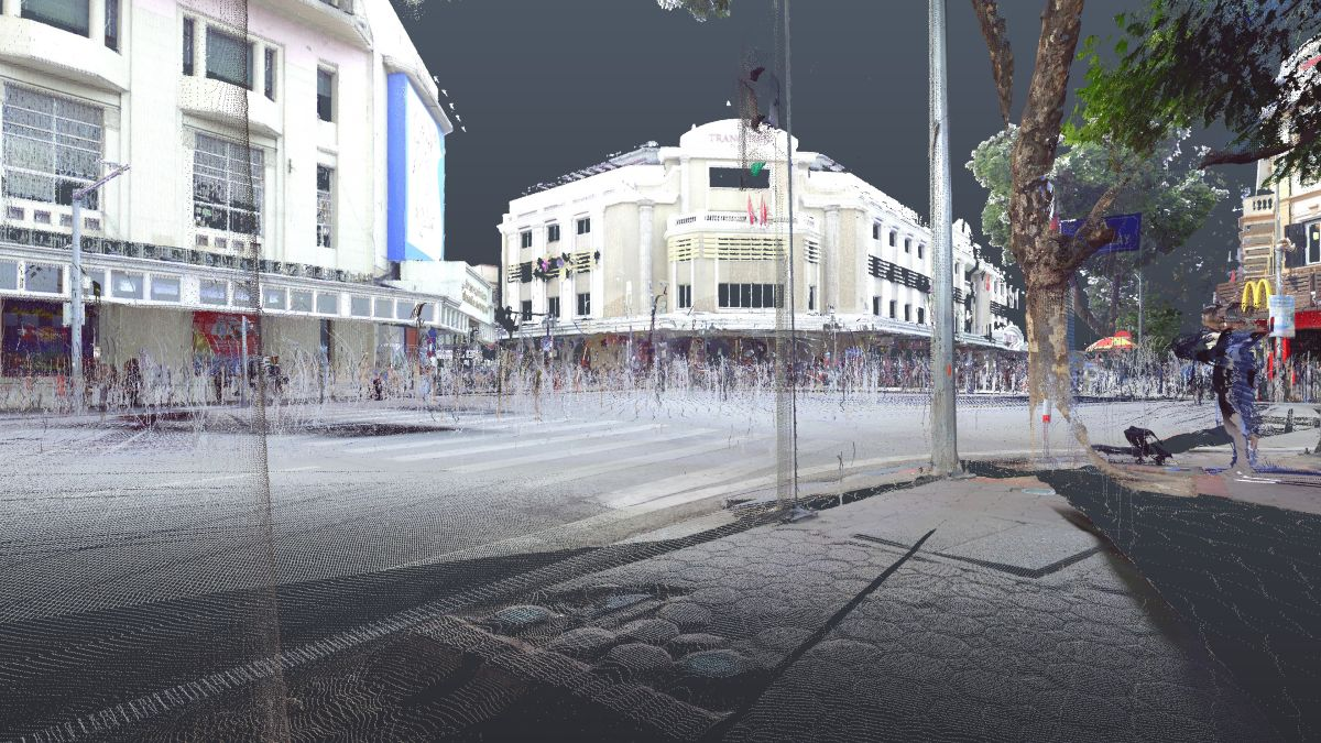 3D laser scanning in Ha Noi