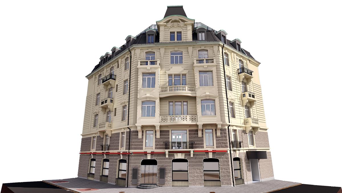 Projekt 4 Sterne Hotel Ambassador