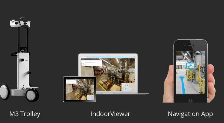 INDOOR MOBILE MAPPING; quét laser toàn bộ hiện trạng cơ sở sản xuất; quét laser hiện trạng cơ sở sản xuất; NavVis; xe quét di động; Messtrolley; NavVis M3 indoor mobile mapping; dữ liệu scan 3D hiện trạng; dữ liệu scan 3D; xử lý dữ liệu scan;
