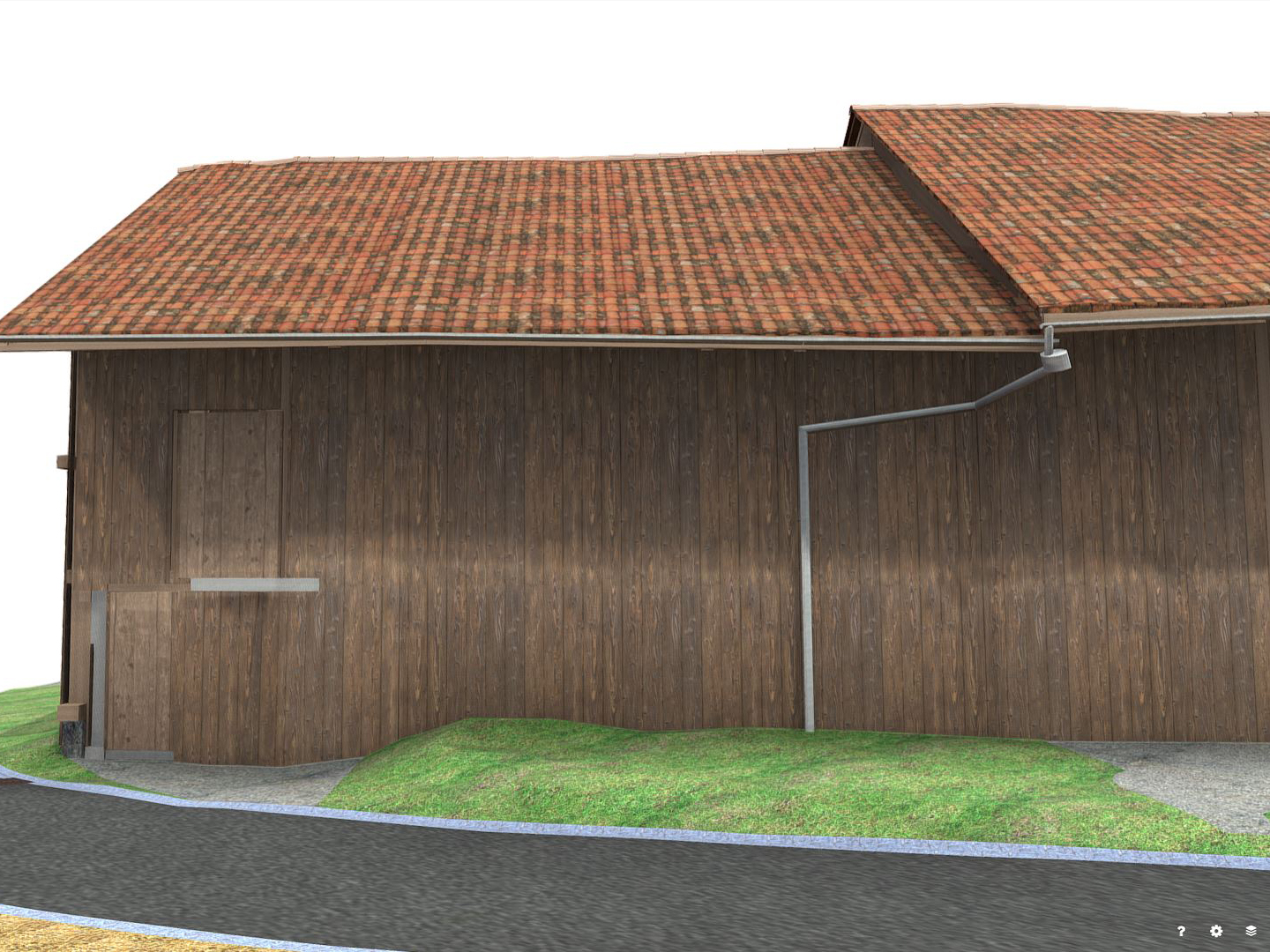 Traditional stable under monument protection