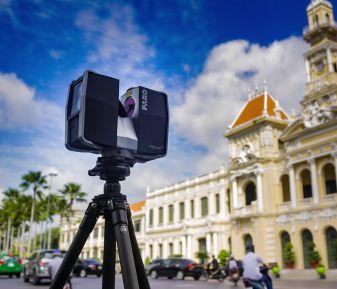 3D Laser Scanning trong bảo tồn di tích