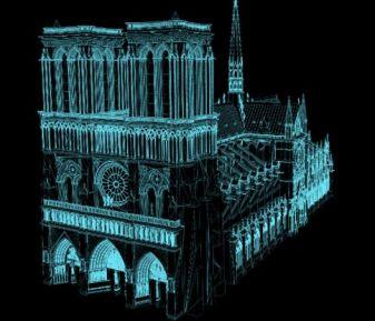 3D Laserscanning trong phục dựng nhà thờ Đức Bà Paris