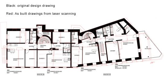 point cloud to bim, point cloud to cad, As built drawings from laser scanning