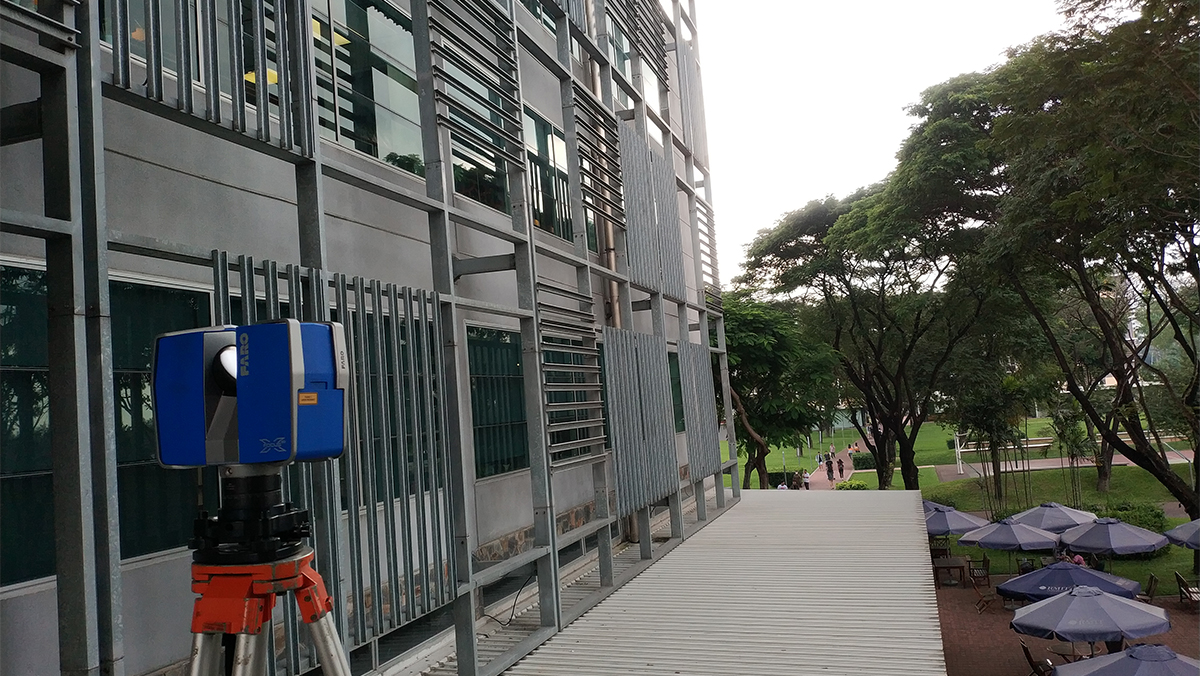 3D Laser scanning at RMIT University