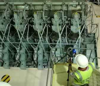 Lắp đặt hệ thống xử lý nước dằn tàu (BWTS) với sự hỗ trợ của 3D laser scanning