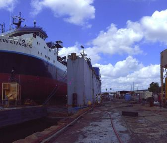 3D Laser Scanning for Marine Vessels