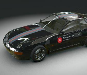 Online car configurator Verge3D