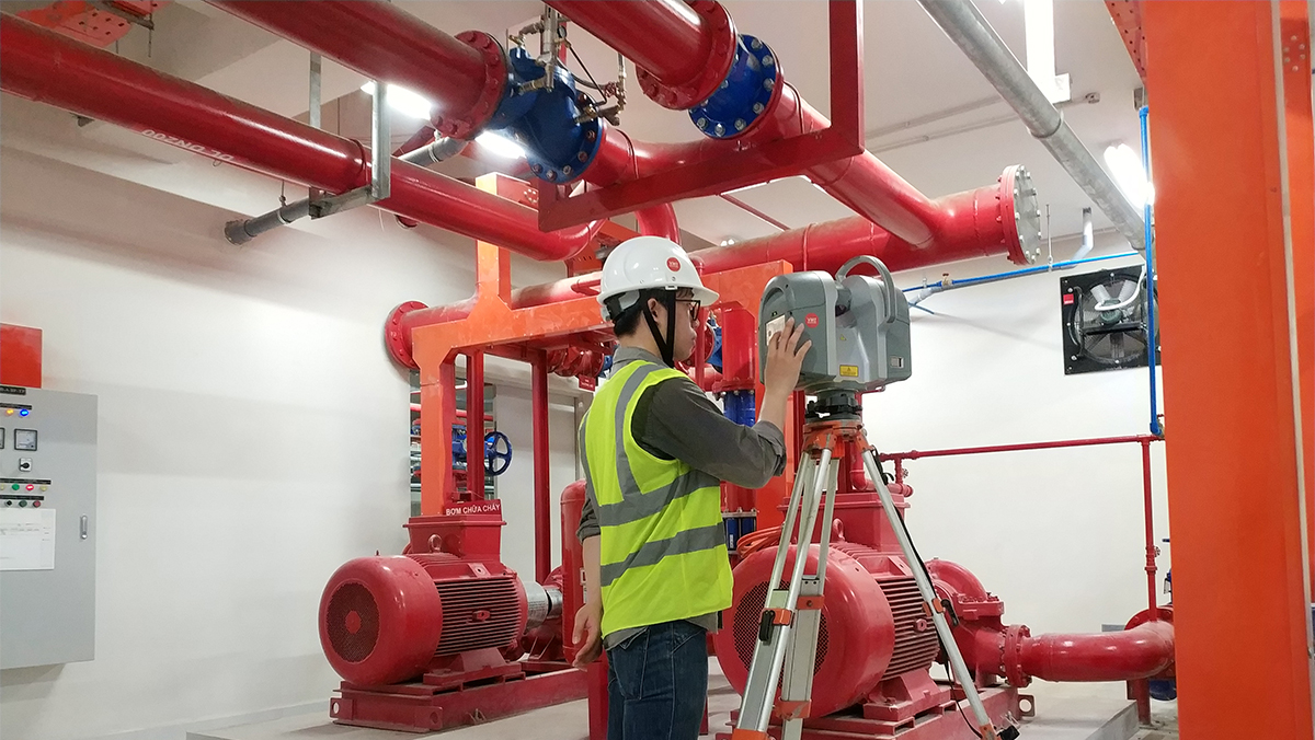 Pumping Room Surveying