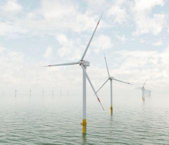 3D Animation Offshore Windfarm