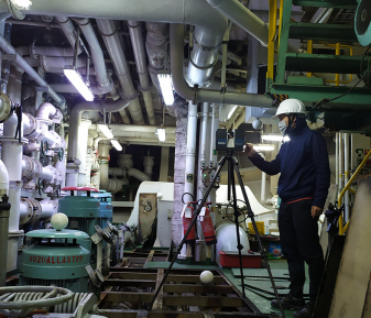 Mandarin Fortune – 3D laser scanning for BWTS retrofit & installation