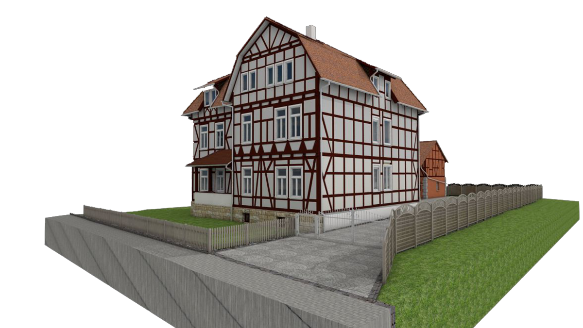 Half-timbered house
