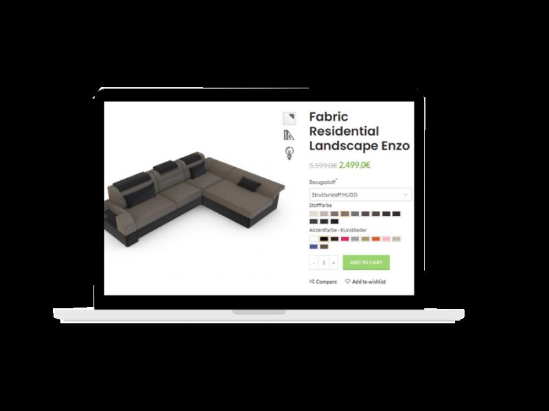 mô hình sản phẩm 3d tương tác