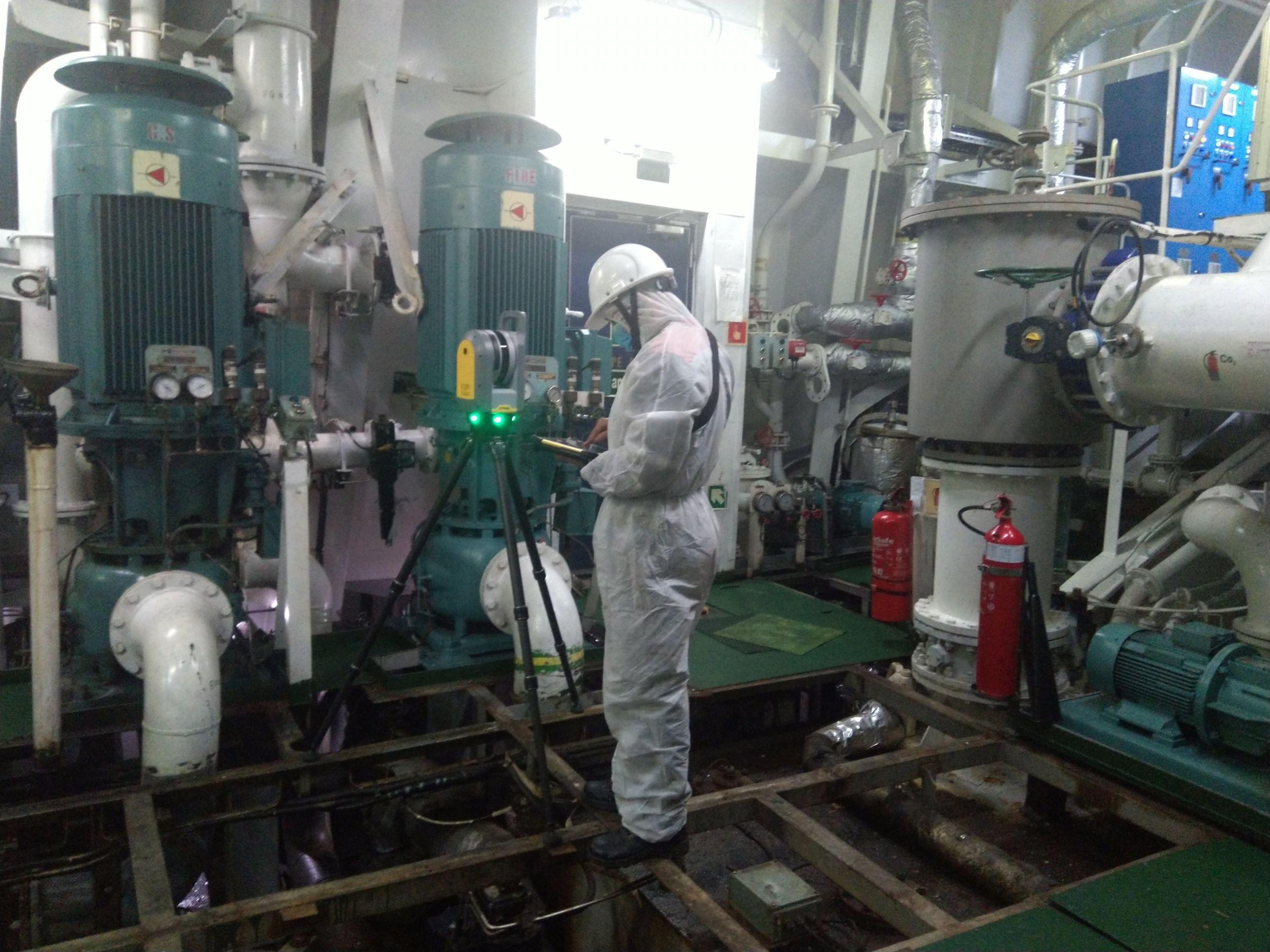 Utilizes 3D Laser Scanning during COVID 19