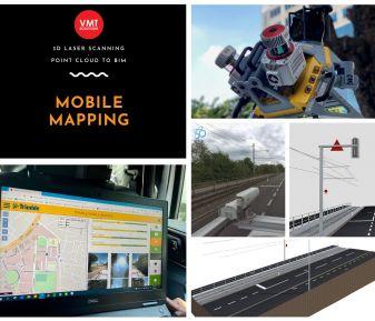 Giải pháp Mobile mapping và thách thức khi xử lý dữ liệu ✅